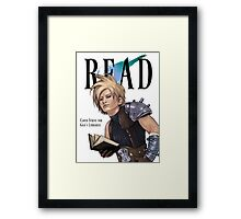 Cloud for the Gaia Library Association Framed Print