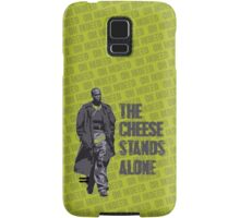 Omar Little - The Cheese Stands Alone Samsung Galaxy Case/Skin