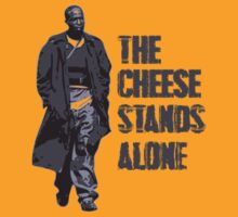 Omar Little - The Cheese Stands Alone by Sean Irvin