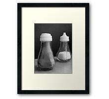 Salt 'n pepper Framed Print