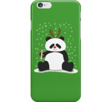 Merry Christmas, Panda! iPhone Case/Skin