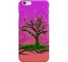 Neon Night Tree iPhone Case/Skin