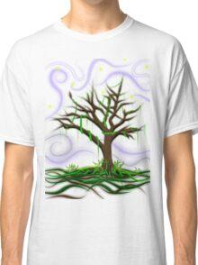 Neon Night Tree Classic T-Shirt