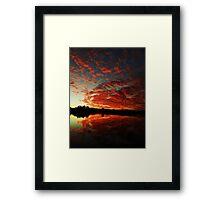 bli bli sun sun Framed Print