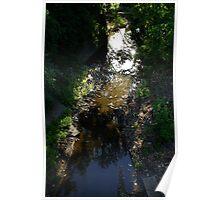 Quiet little creek Poster