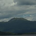 Panoramic View Of Ben Lomond & Inchmoan Island by youmeus