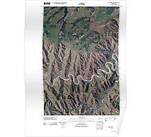 USGS Topo Map Washington State WA Black Butte 20110406 TM Poster
