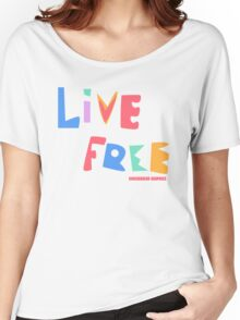 Live Free Women's Relaxed Fit T-Shirt