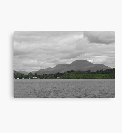 Only Green Hills Canvas Print