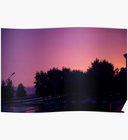 Great sunrise Poster