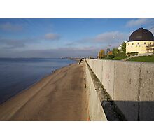 View of sunny embankment Photographic Print
