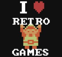 I Love Retro Games (Link) by Daintao