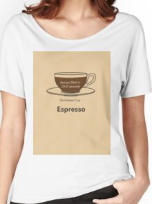 Coffee Addict, Espresso Women's Relaxed Fit T-Shirt