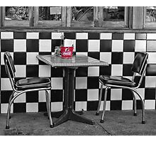 Let's have coffee Photographic Print
