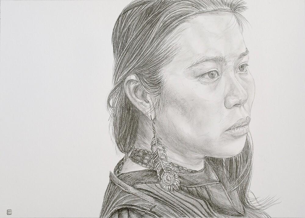 Cassandra Sketch by modernlifeform