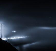 A Night in Foggy Land - Golden Gate Bridge by Toby Harriman
