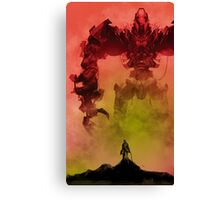 My Killbot is Bigger Than Your Killbot Canvas Print