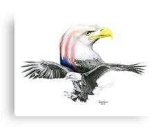 Bald & Bold Eagle Canvas Print