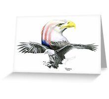 Bald & Bold Eagle Greeting Card
