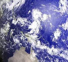 Australia from space by Mark Walton