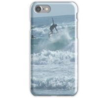 The surfer iPhone Case/Skin