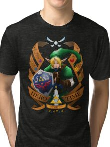 Hero of Time (Green) Tri-blend T-Shirt