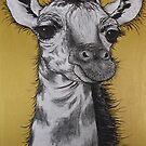 """""""Baby Giraffe"""" by Sally Ford"""