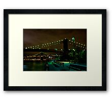 Brooklyn Bridge III Framed Print