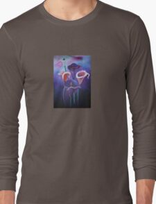 Purple Calla's Long Sleeve T-Shirt