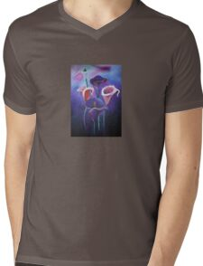 Purple Calla's Mens V-Neck T-Shirt