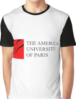American University of Paris (AUP) Graphic T-Shirt