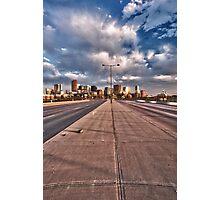 Denver Twilight Photographic Print
