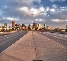 Denver Skyline by Adam Northam