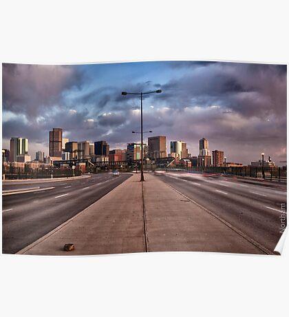 Colorful Denver Poster
