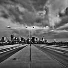 Denver Cityscape B/W by anorth7