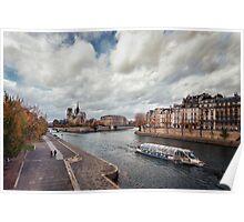 La Seine - Paris Poster