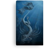 Dragon of the Depths Canvas Print