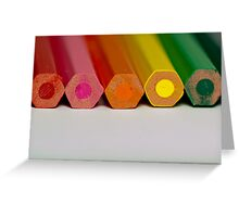 Colour Me a Rainbow Greeting Card