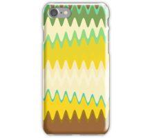 Retro Zigzag Colorful Chevron Striped Pattern iPhone Case/Skin