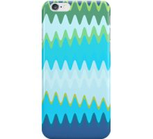 Retro Zigzag Colorful Chevron Striped Pattern 2 iPhone Case/Skin