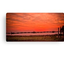 Addalyn's Sunrise Canvas Print