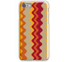 Retro Zigzag Colorful Chevron Striped Pattern 3 iPhone Case/Skin