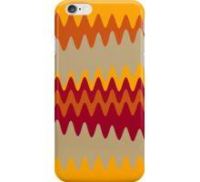 Retro Zigzag Colorful Chevron Striped Pattern 4 iPhone Case/Skin
