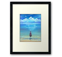 Seashores of Eternity Framed Print