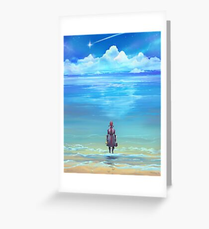 Seashores of Eternity Greeting Card