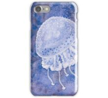White Spotted Jellyfish iPhone Case/Skin