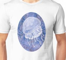 White Spotted Jellyfish Unisex T-Shirt