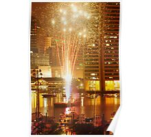 Baltimore Fireworks Poster