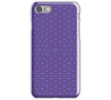 Purple vintage seamless abstract  iPhone Case/Skin