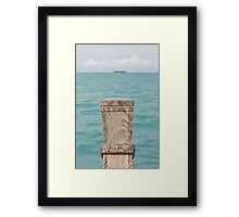 On the way to paradise ! Framed Print